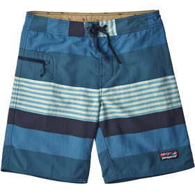 Patagonia Wavefarer Boardshorts Herr fitz stripe/port blue